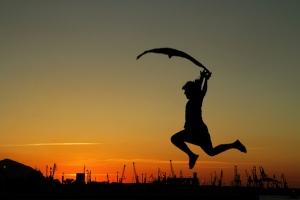 danzando con el viento